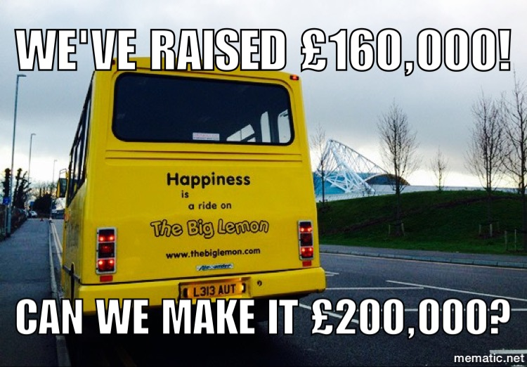 The Big Lemon Raises 163 100 000 For An Electric Bus And
